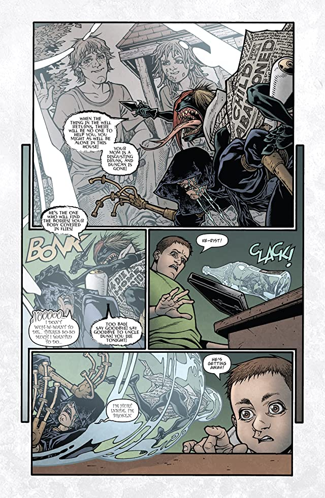 click for super-sized previews of Locke & Key: Head Games #5