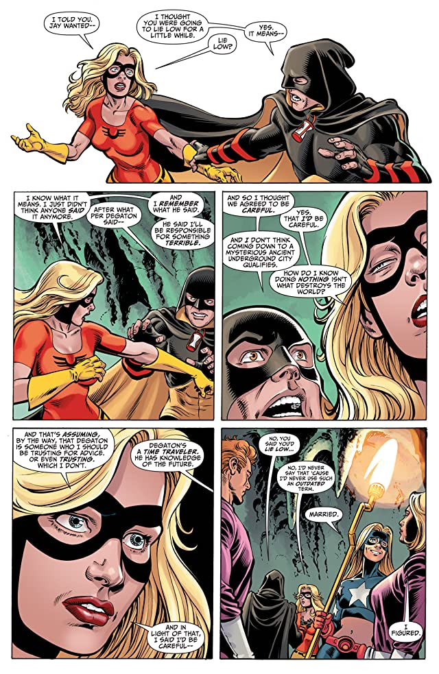 click for super-sized previews of Justice Society of America (2007-2011) #53