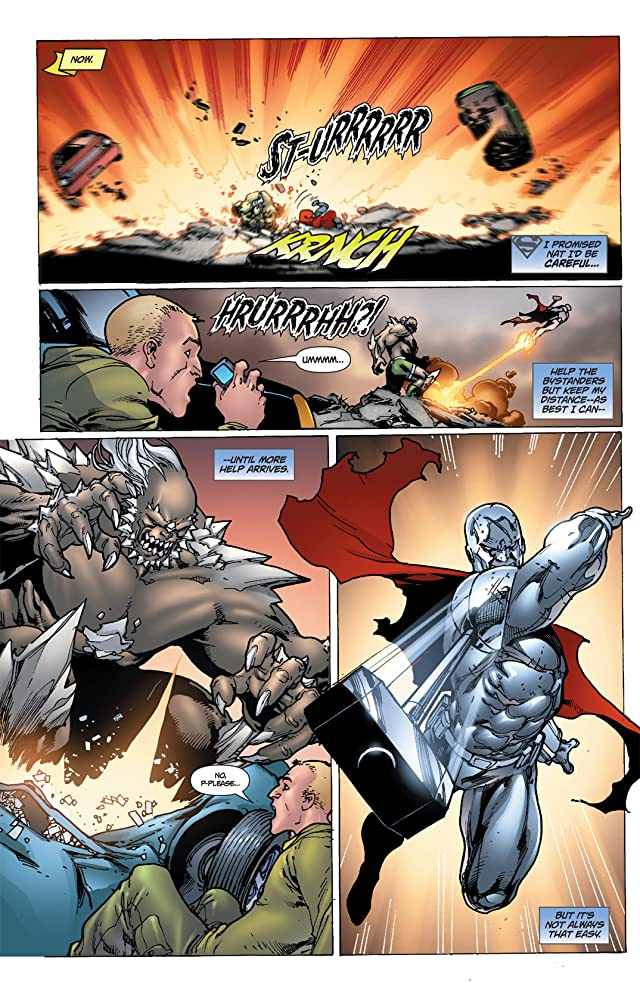 click for super-sized previews of Steel (2011) #1