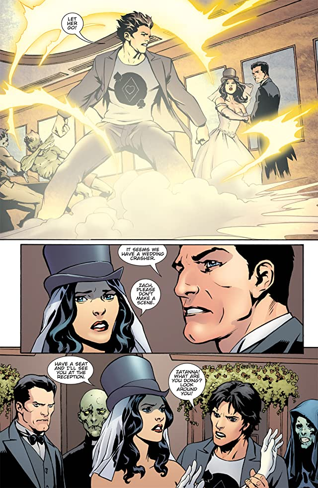 click for super-sized previews of Zatanna (2010-2011) #6