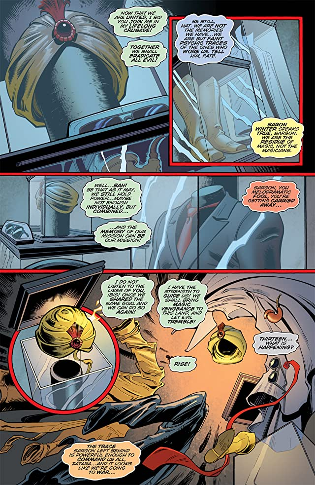 click for super-sized previews of Zatanna (2010-2011) #7