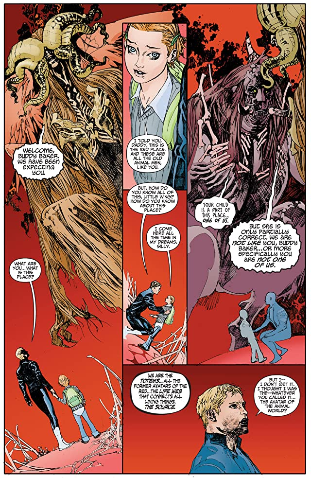 click for super-sized previews of Animal Man (2011-2014) #3