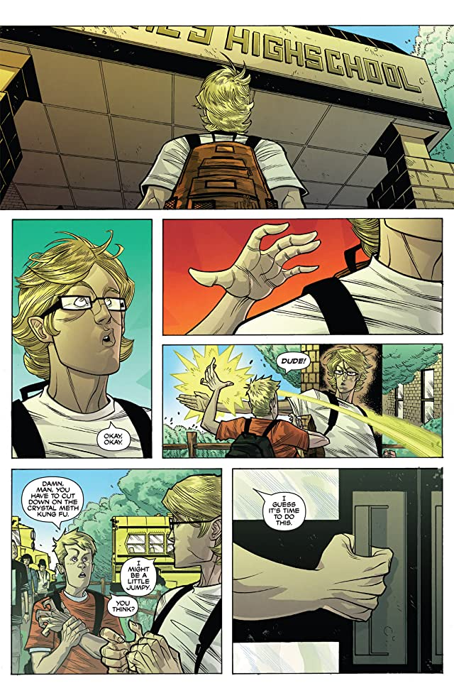 click for super-sized previews of The Strange Talent of Luther Strode #2