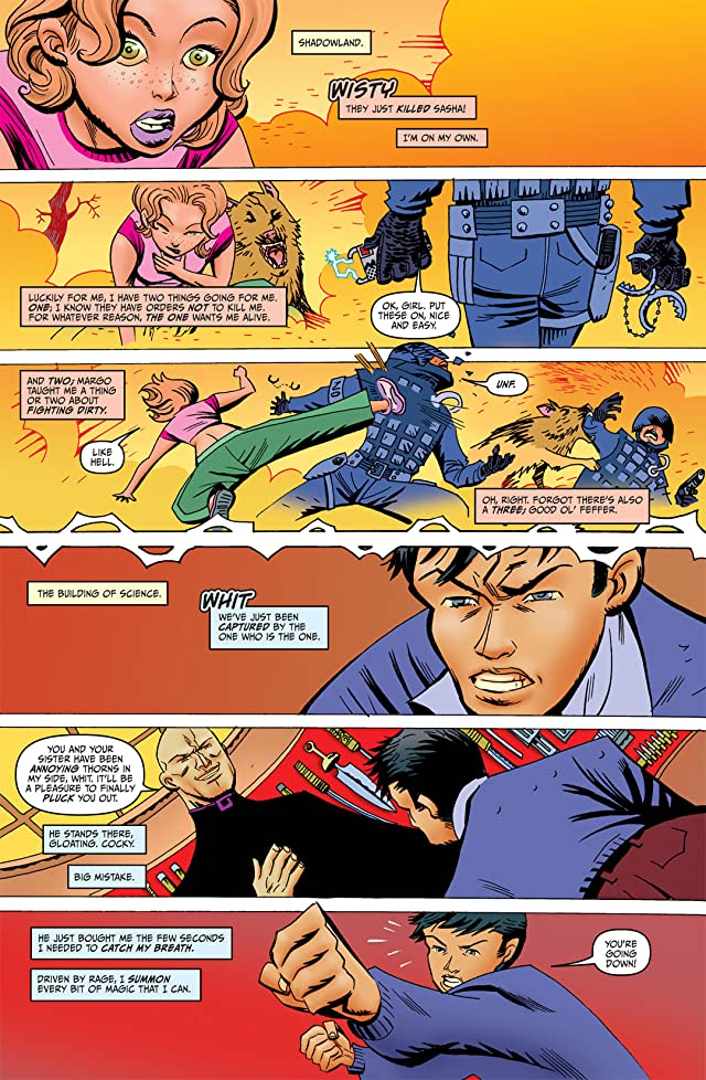 click for super-sized previews of James Patterson's Witch & Wizard: The Battle for Shadowland #3