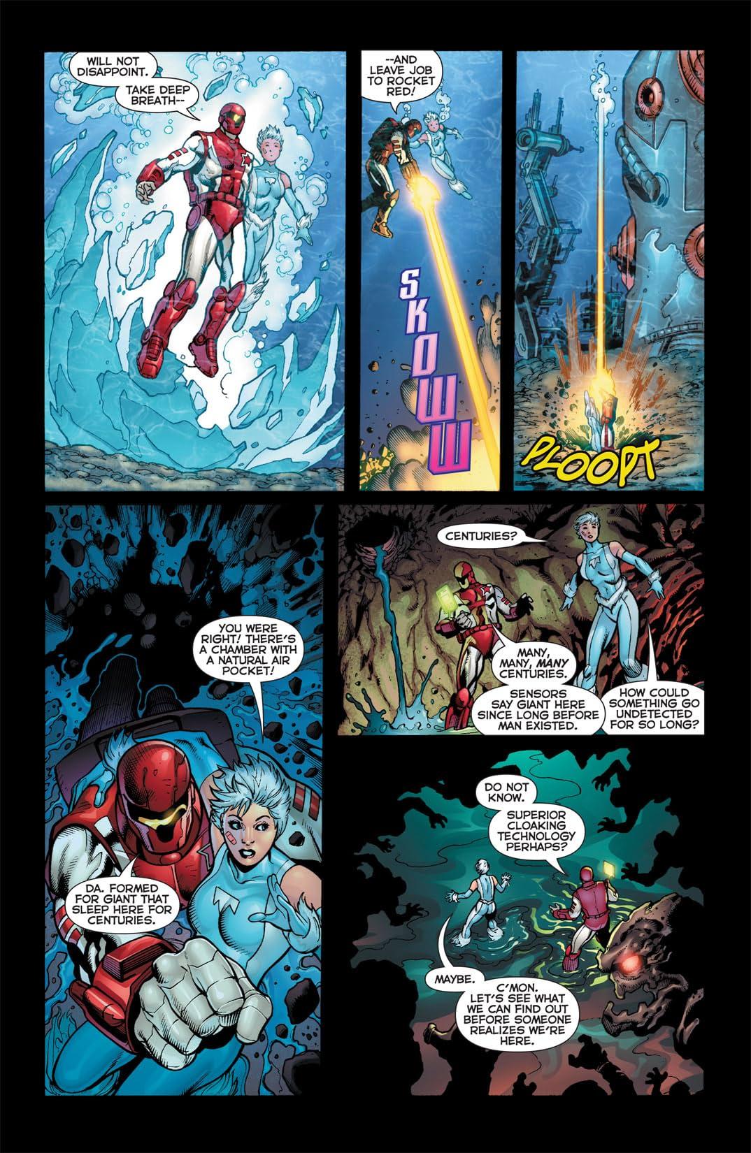 Justice League International (2011-2012) #3