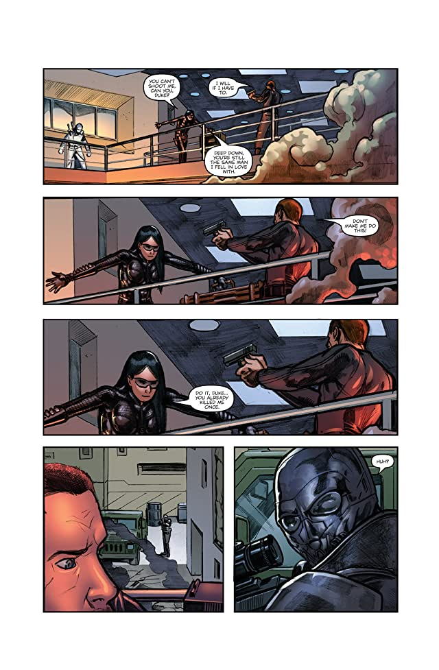 click for super-sized previews of G.I. Joe: The Rise of Cobra #3: Official Movie Adaptation