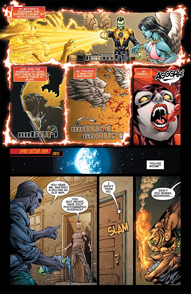 click for super-sized previews of Red Lanterns (2011-2015) #3