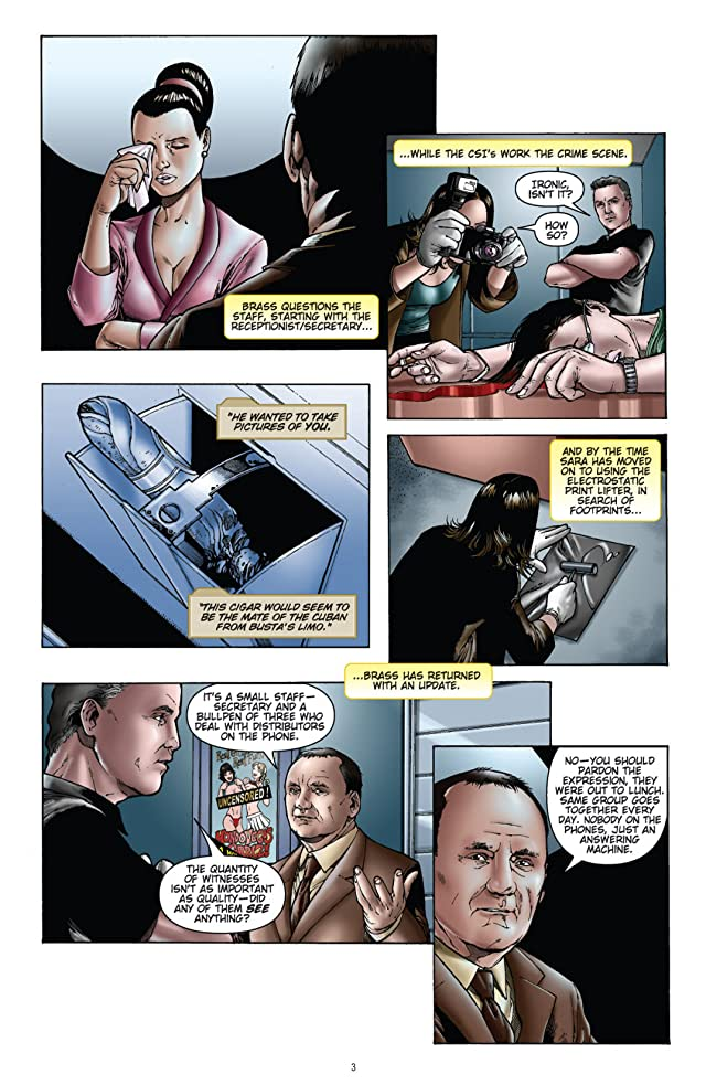 click for super-sized previews of CSI: Bad Rap #5