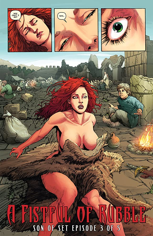 click for super-sized previews of Queen Sonja #18