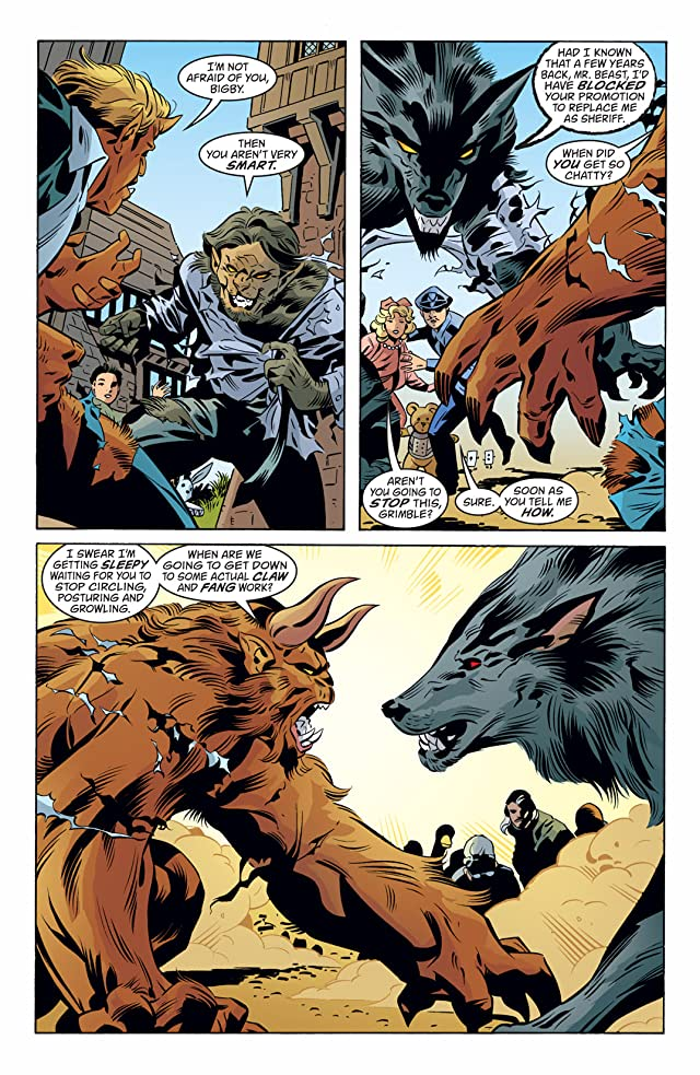 click for super-sized previews of Fables #83