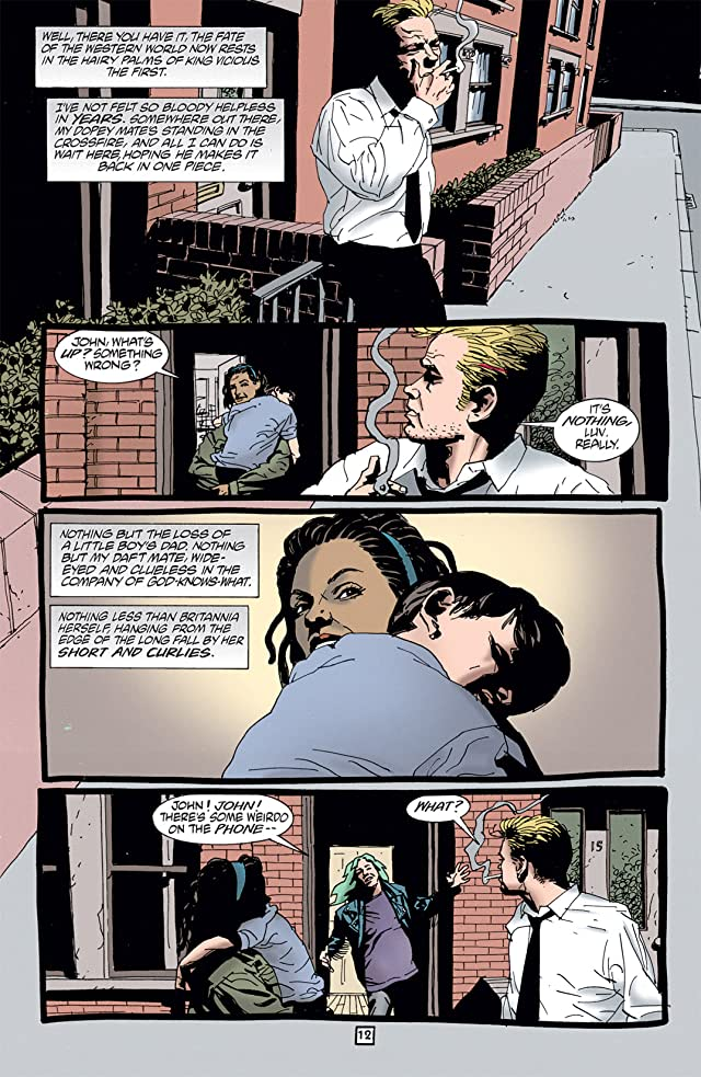 click for super-sized previews of Hellblazer #112