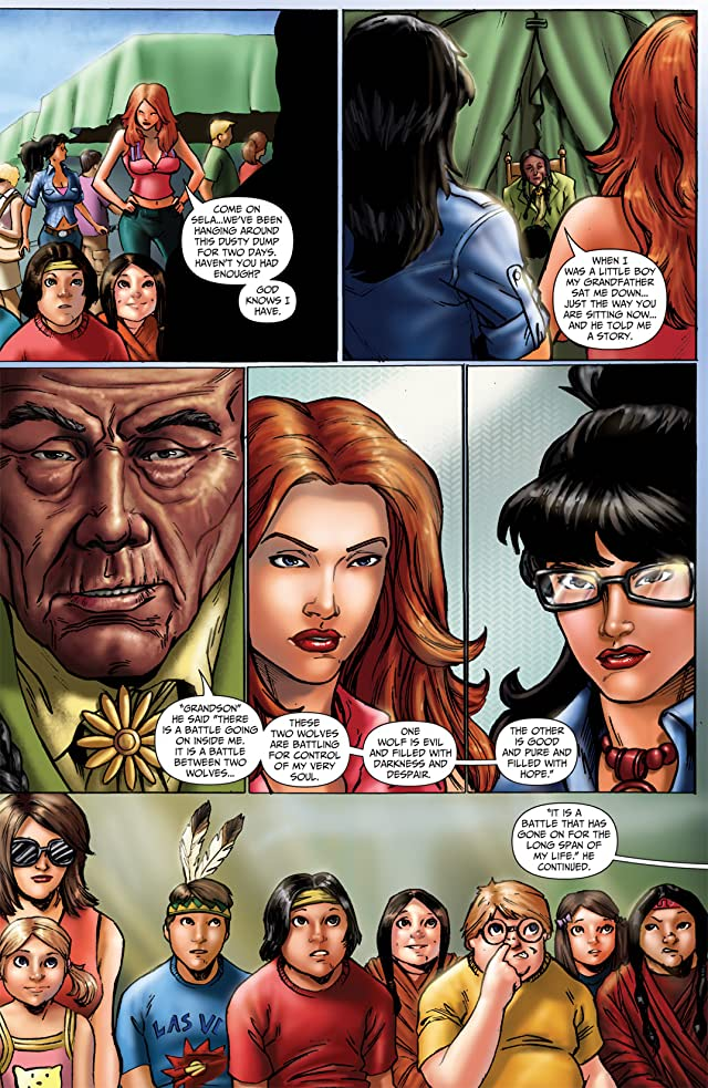 click for super-sized previews of Grimm Fairy Tales #43