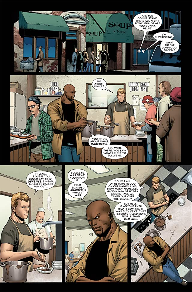 click for super-sized previews of Shadowland #2 (of 5)