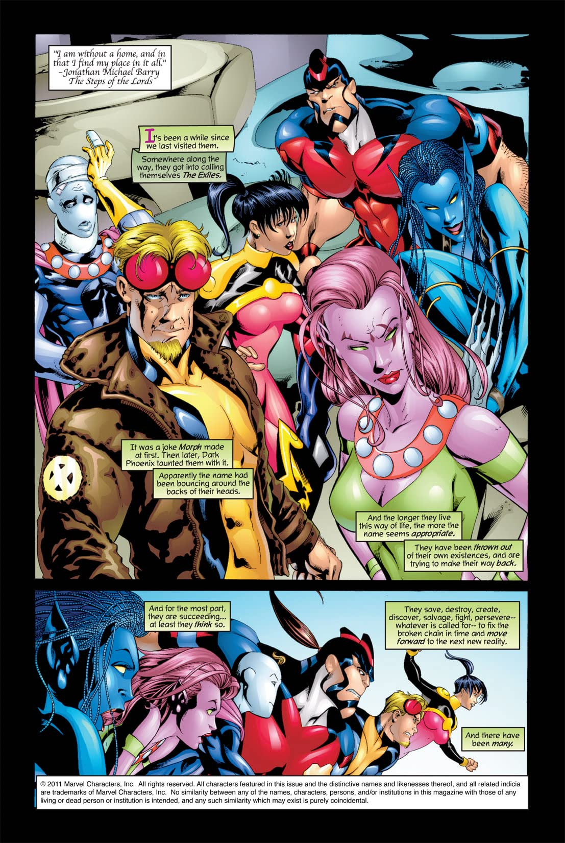 Exiles (2001-2008) #8