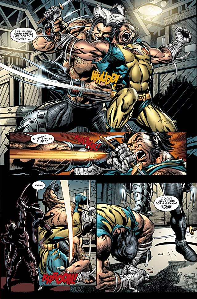 click for super-sized previews of Wolverine: Origins #40