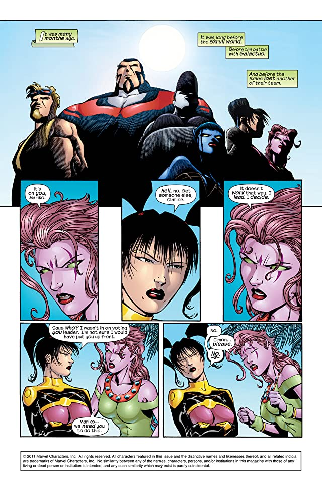 click for super-sized previews of Exiles (2001-2008) #11