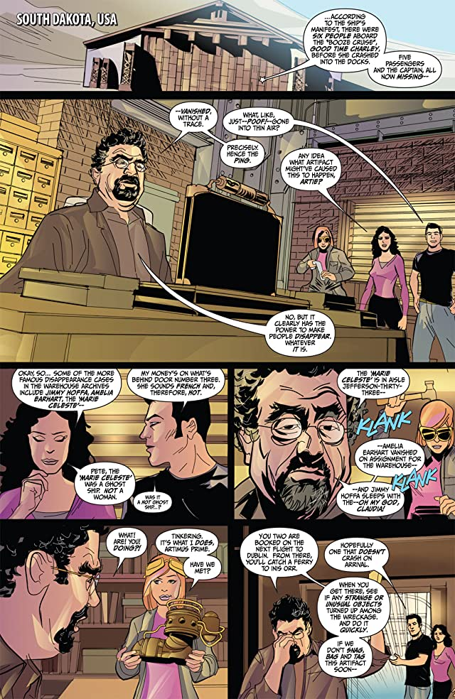 click for super-sized previews of Warehouse 13 #2