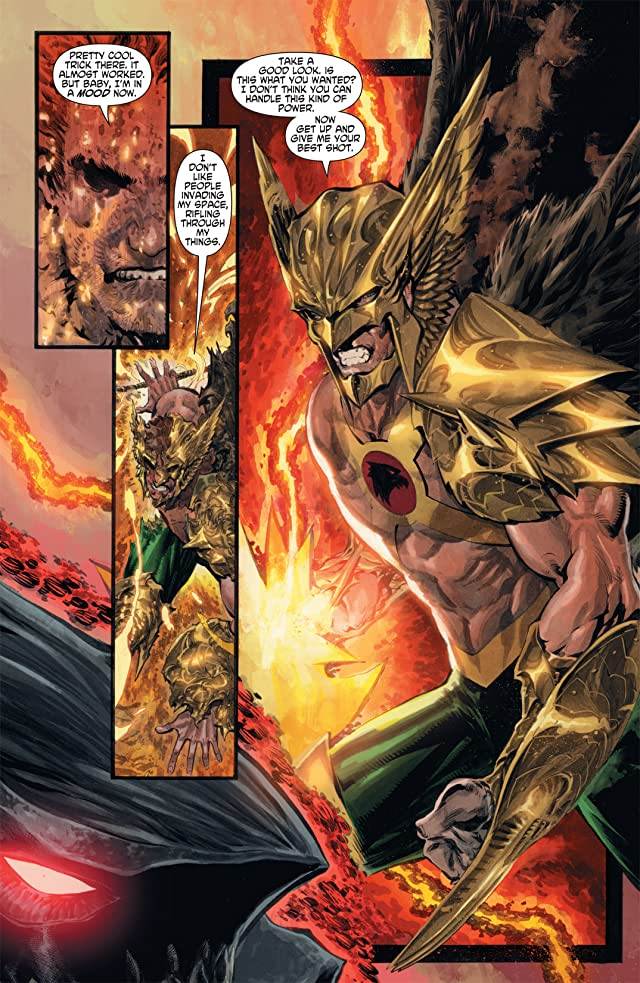 click for super-sized previews of The Savage Hawkman (2011-2013) #2