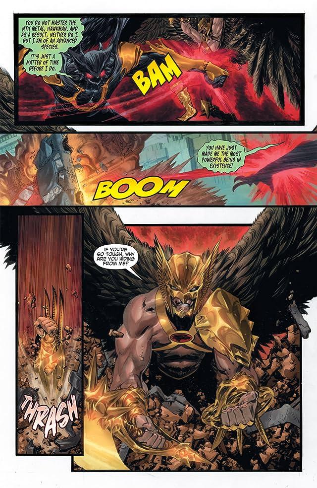 The Savage Hawkman (2011-2013) #2