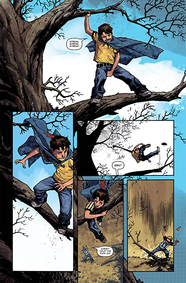click for super-sized previews of Joe Hill's The Cape: (One-Shot)