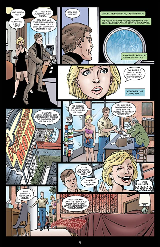 click for super-sized previews of Star Trek: Assignment Earth #4