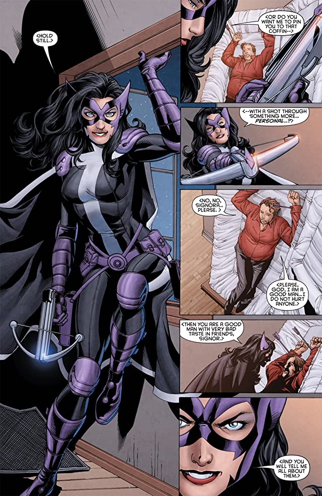 click for super-sized previews of Huntress (2011-2012) #2
