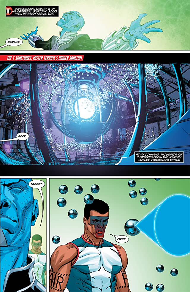 click for super-sized previews of Mister Terrific (2011-2012) #3
