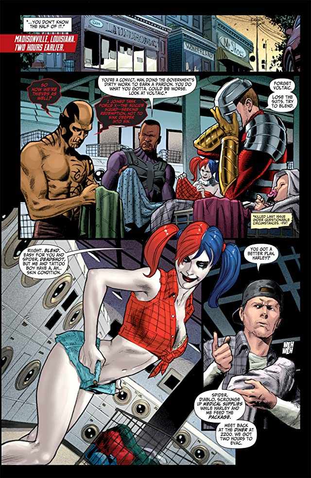 click for super-sized previews of Suicide Squad (2011-2014) #3