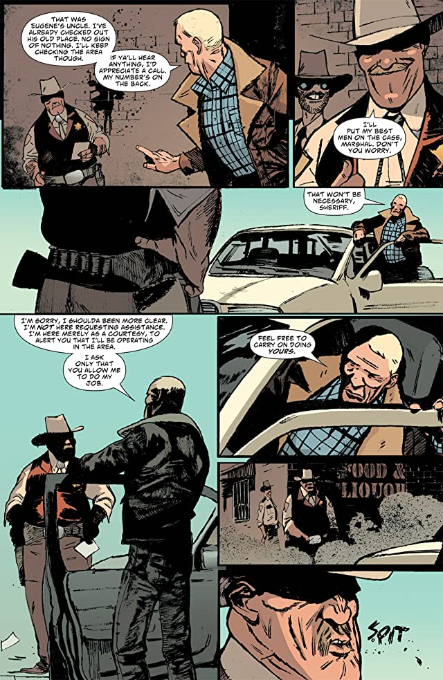 click for super-sized previews of Scalped #43