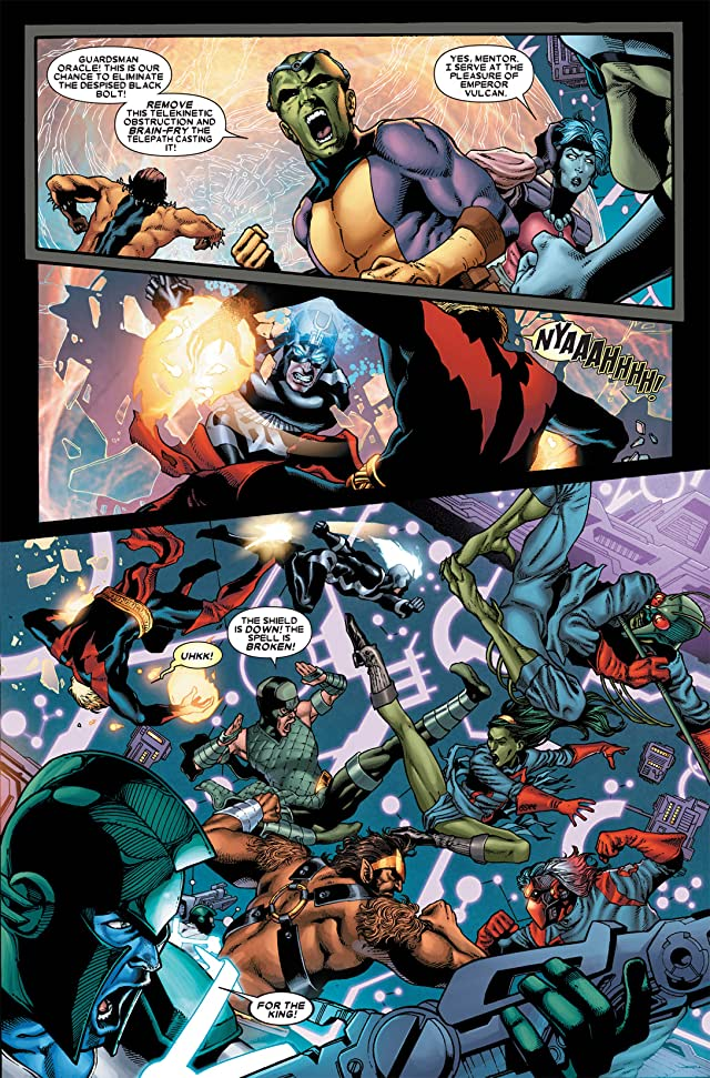 click for super-sized previews of Guardians of the Galaxy (2008-2010) #15