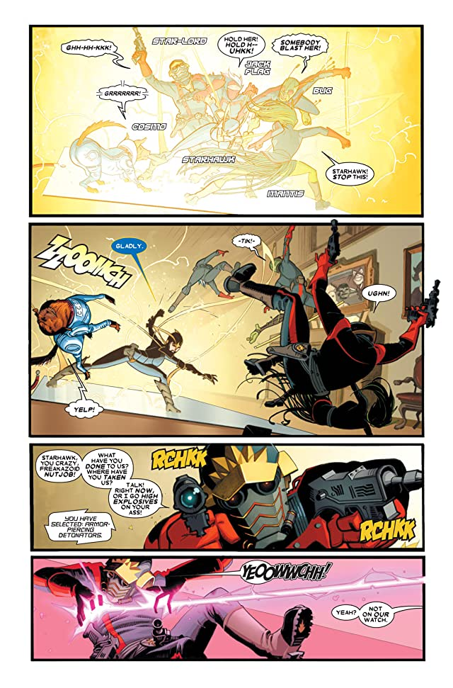 click for super-sized previews of Guardians of the Galaxy (2008-2010) #16