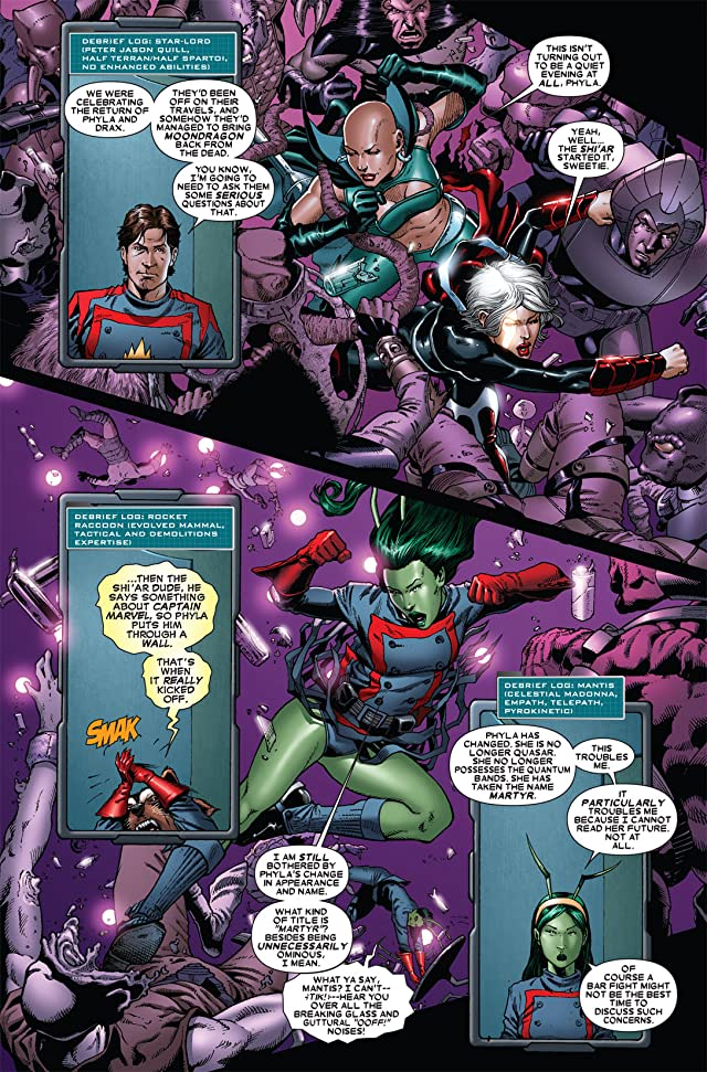 click for super-sized previews of Guardians of the Galaxy (2008-2010) #13