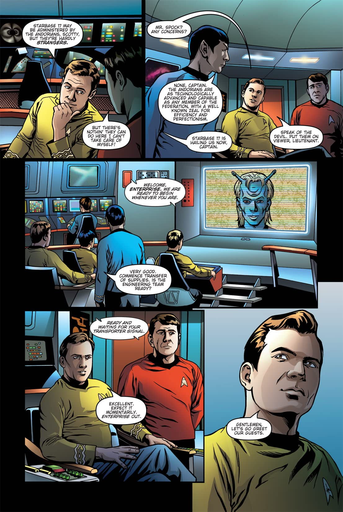 Star Trek: Burden of Knowledge #3