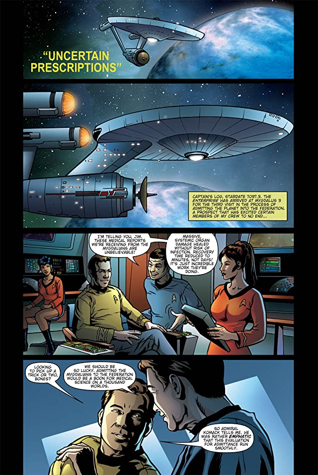 click for super-sized previews of Star Trek: Burden of Knowledge #1