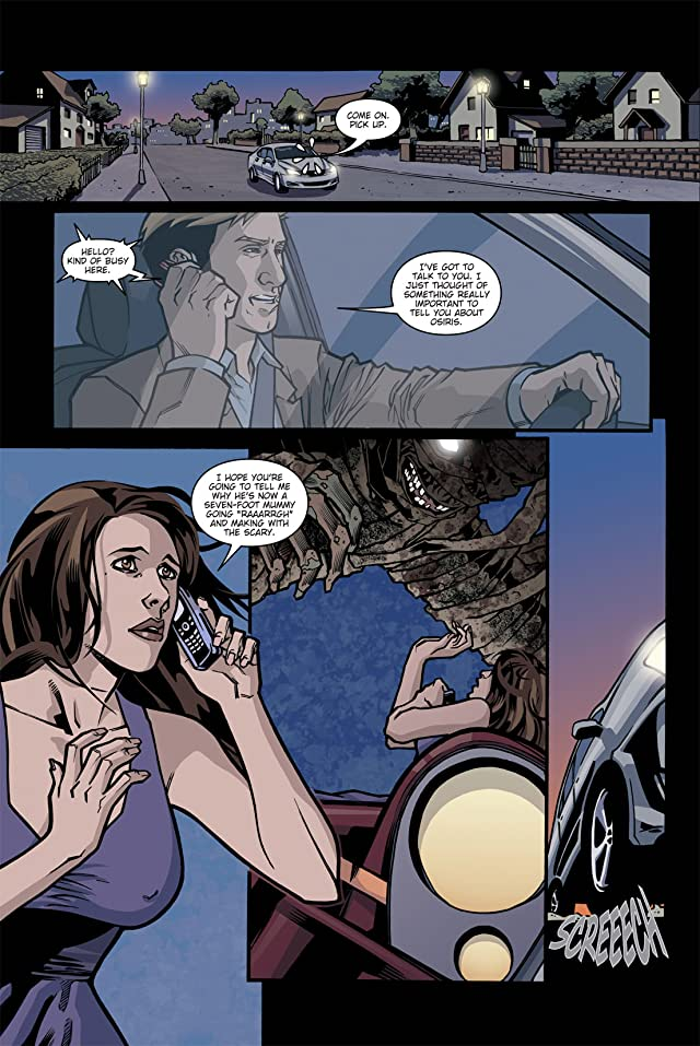 click for super-sized previews of Ghost Whisperer: The Haunted #3