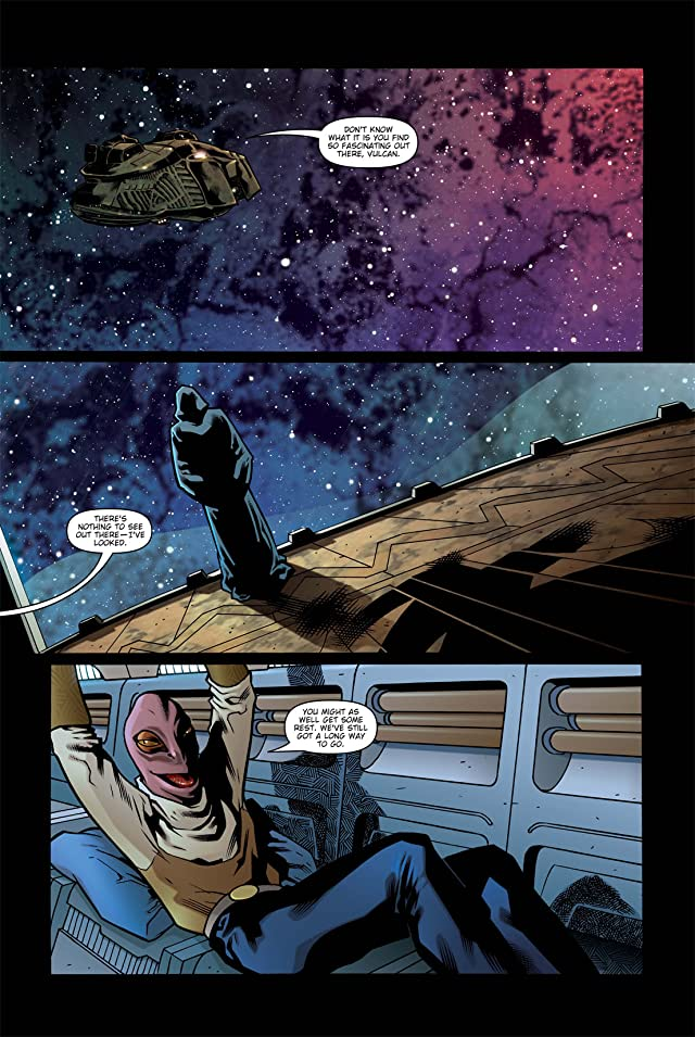 click for super-sized previews of Star Trek: Spock Reflections #2