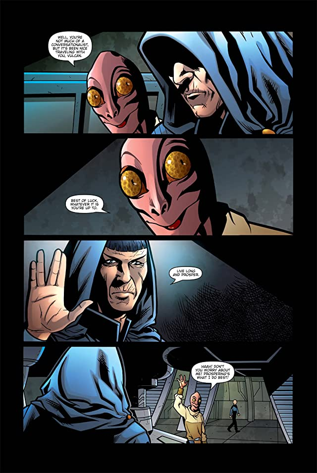 click for super-sized previews of Star Trek: Spock Reflections #3