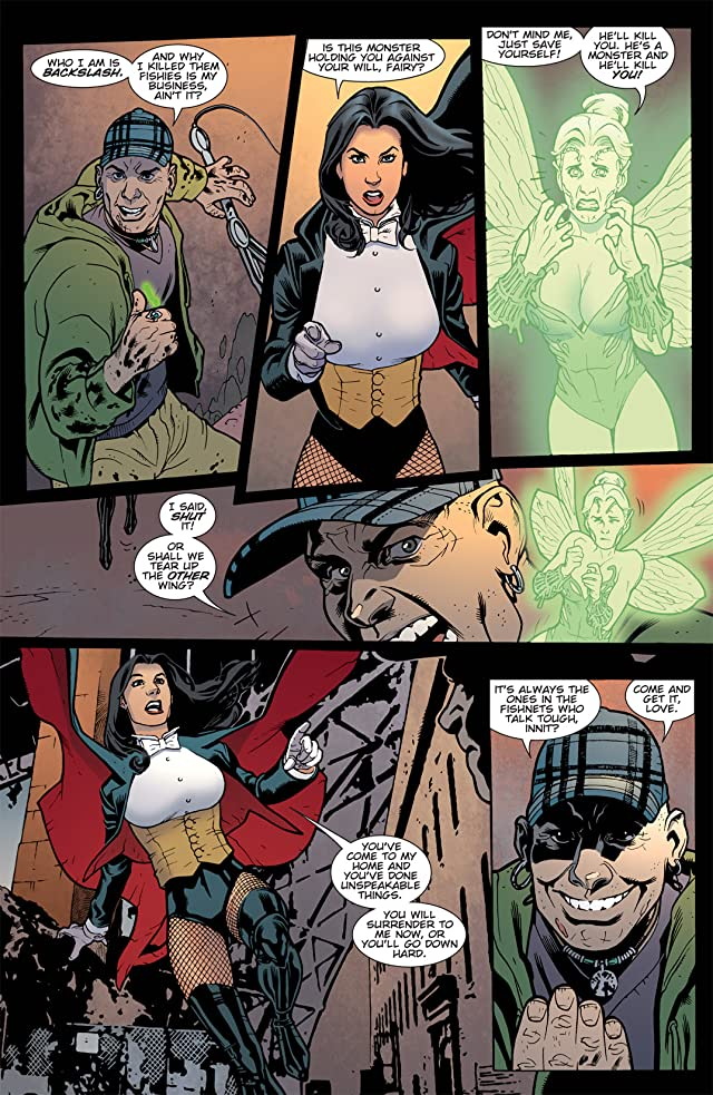 click for super-sized previews of Zatanna (2010-2011) #12