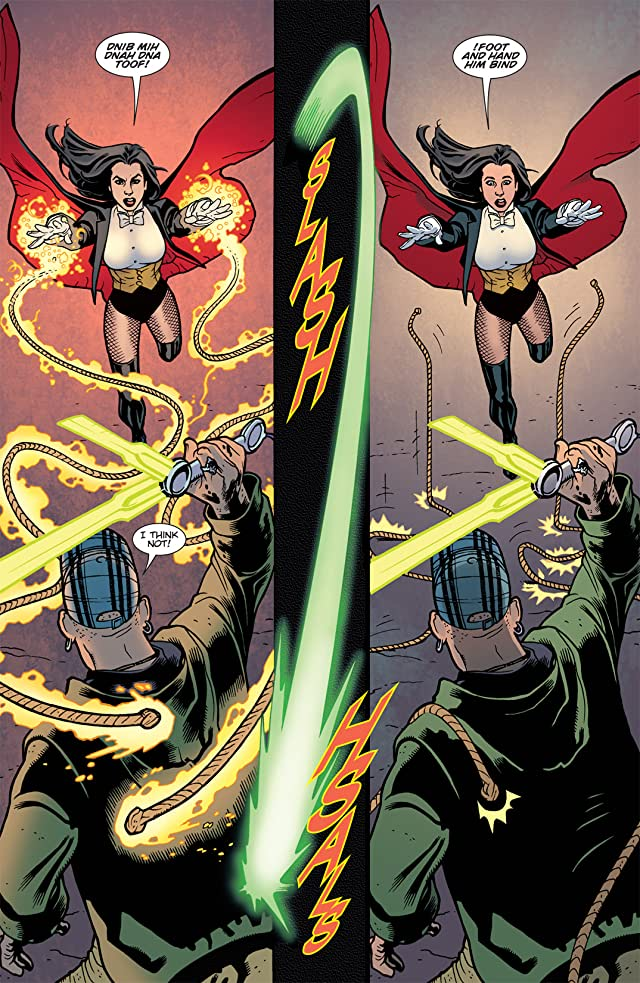 click for super-sized previews of Zatanna (2010-2011) #12