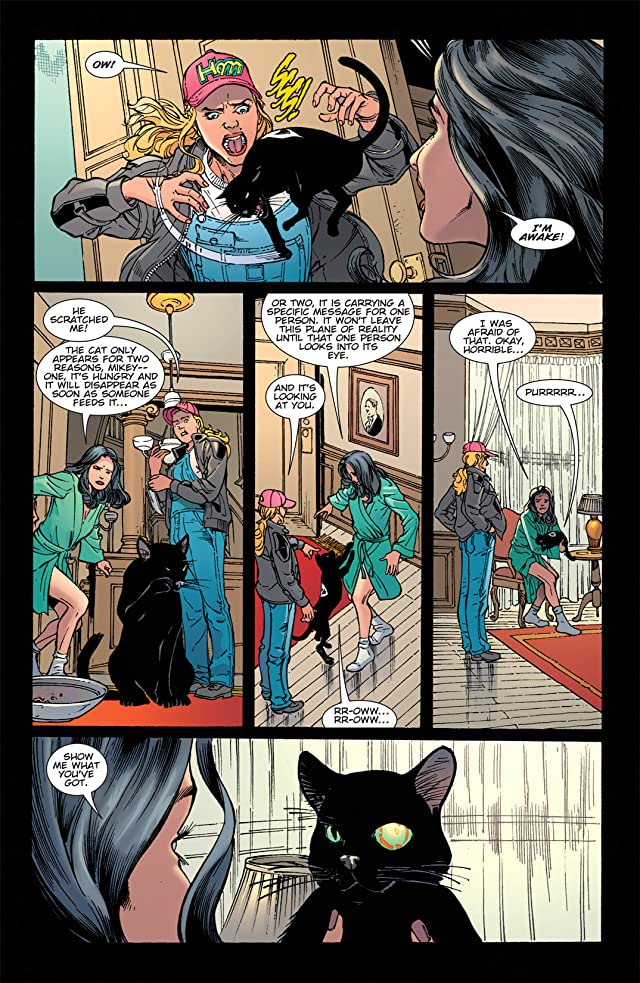 click for super-sized previews of Zatanna (2010-2011) #13