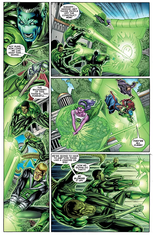 click for super-sized previews of Green Lantern Corps (2011-2015) #2
