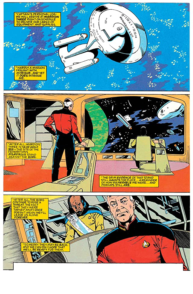 click for super-sized previews of Star Trek Archives: Best of Borg #1