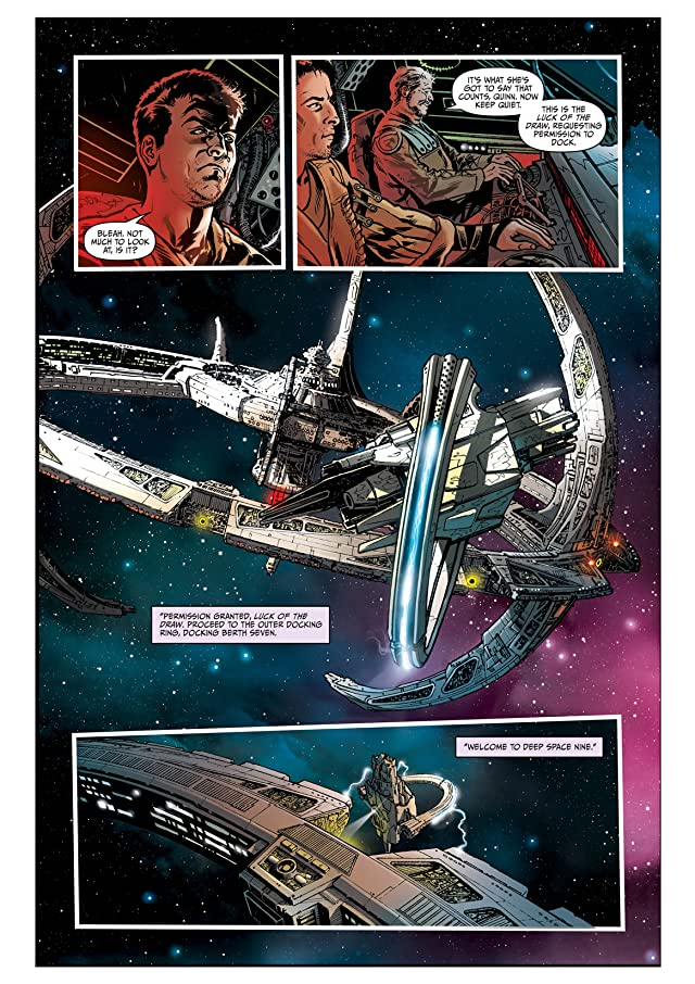 click for super-sized previews of Star Trek: Deep Space Nine #1