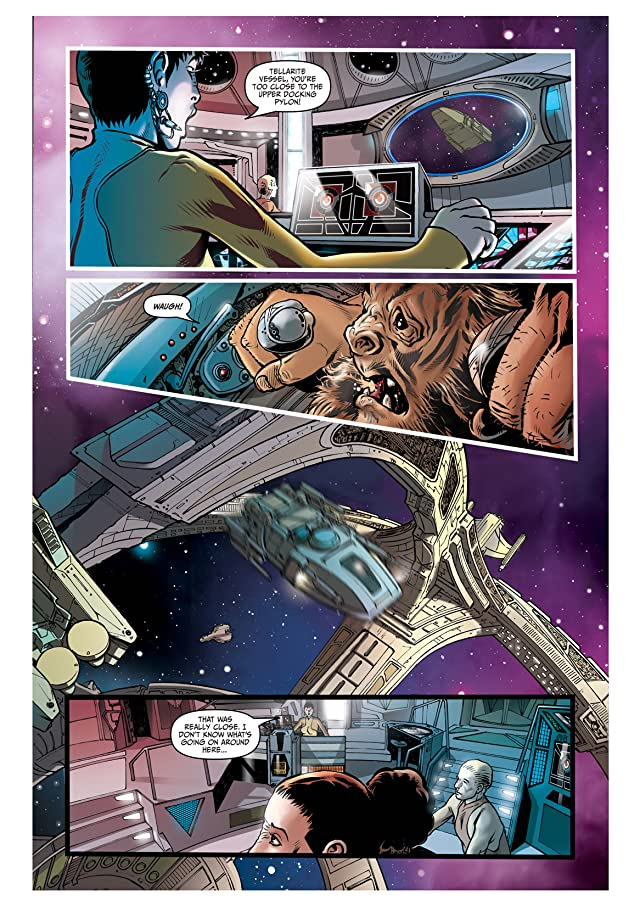 click for super-sized previews of Star Trek: Deep Space Nine #2