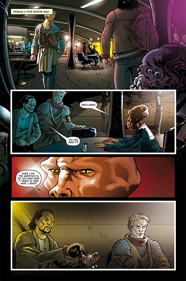 click for super-sized previews of Star Trek: Deep Space Nine #3
