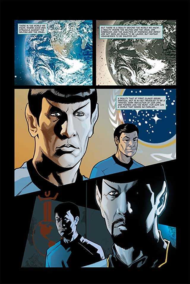 click for super-sized previews of Star Trek: Mirror Images #1