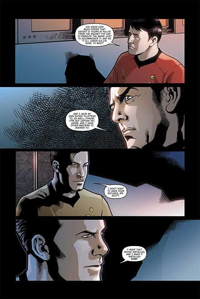 click for super-sized previews of Star Trek: Mirror Images #4