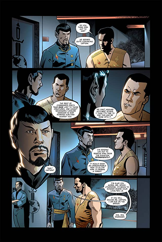 click for super-sized previews of Star Trek: Mirror Images #5