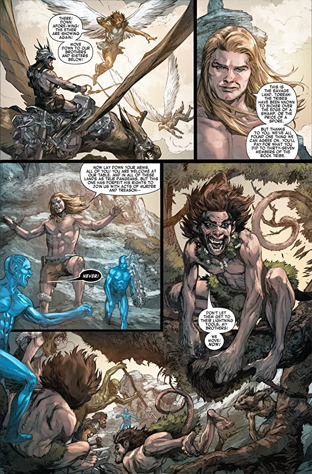click for super-sized previews of Ka-Zar (2011) #5
