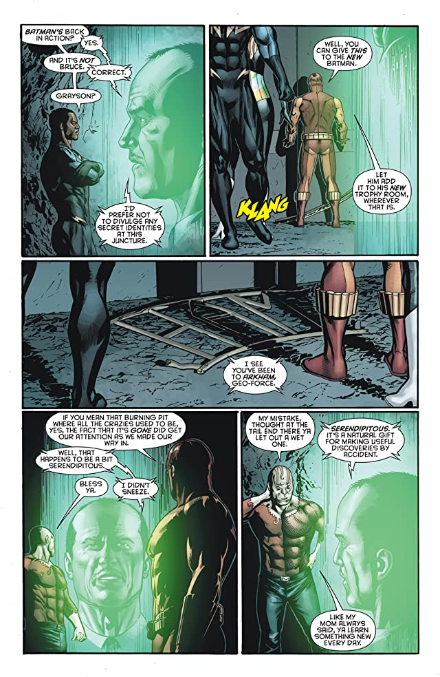 click for super-sized previews of Outsiders (2007-2011) #21